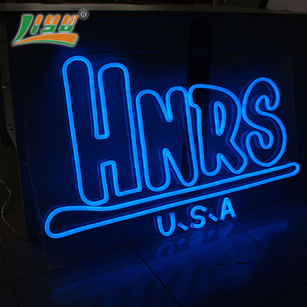 Decorative led sign