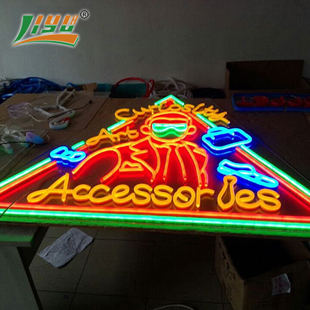 Advertising flex neon  sign
