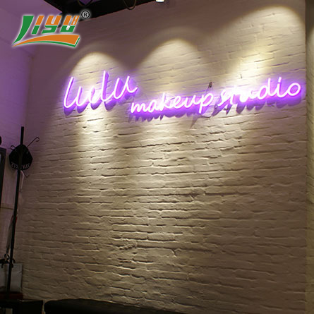 LED neon signs for makeup shop